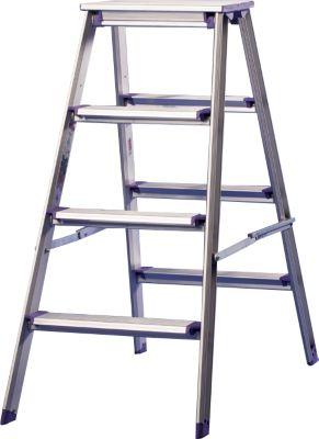 Doppelstufenleiter Lila-Serie, 4 Stufen