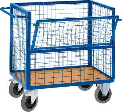 Draadrooster transportwagen, zonder deksel, b 975 x d 675 mm