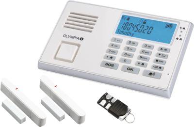 Drahtloses GSM-Alarmanlagen-Set  Protect 9035 GSM, mit 2 Tür-/Fensterkontakten