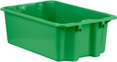 Drehstapelbehälter FB 601, 30 l, grün