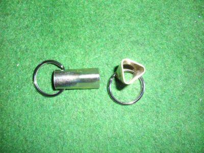 Dreikantschlüssel für Stahlpoller, mit Schüsselring