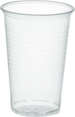 Drinkbekers transparant, 0,2 l, 100 st.