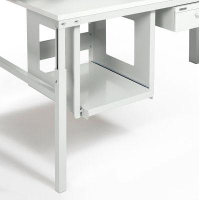 Druckerboard Serie TPB, ausziehbar bis 500 mm, f. Drucker B 400 x T 500 x H 415 mm