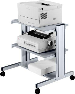 Druckertisch mit 3 Ebenen