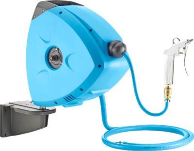 Druckluft-Schlauchaufroller, mobil, automatisch, mit oder ohne Halterung