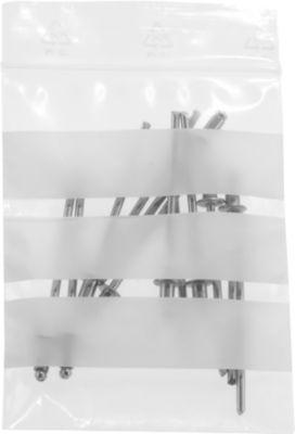 Druckverschlussbeutel, 40 x 60 mm