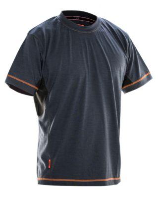 Dry tech Merino T-shirt grau/schwarz L