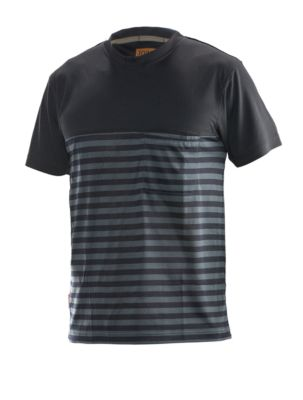 Dry tech t-shirt schwarz/grau S