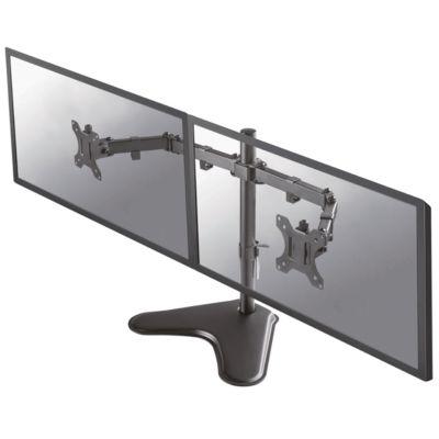 """Dual-Monitorarm NewStar FPMA-D550DDBLACK, bis 32"""", neig-/dreh-/schwenkbar, höhen- & tiefenverst."""