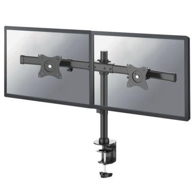 """Dual-Monitorarm NewStar FPMA-DCB100DBLACK, bis 27"""", neig-/dreh-/schwenkbar, höhenverstellbar"""