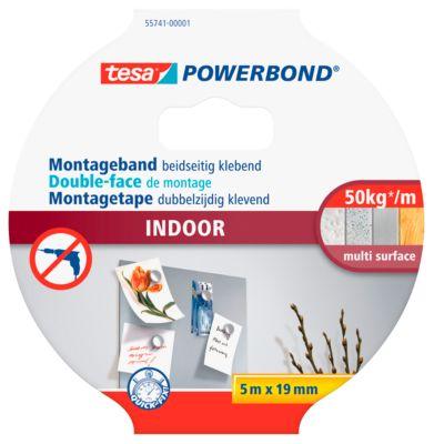 Dubbelzijdige kleefband tesa Powerbond® Binnenshuis