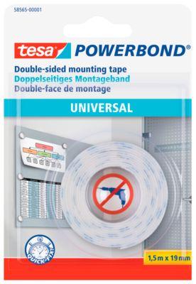 Dubbelzijdige kleefband tesa Powerbond® Universeel tesa Powerbond® Universeel