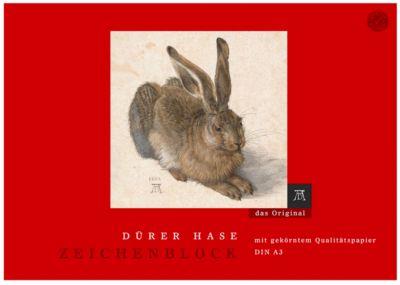 Dürer Hase Zeichenblock, A3, 18 Blatt