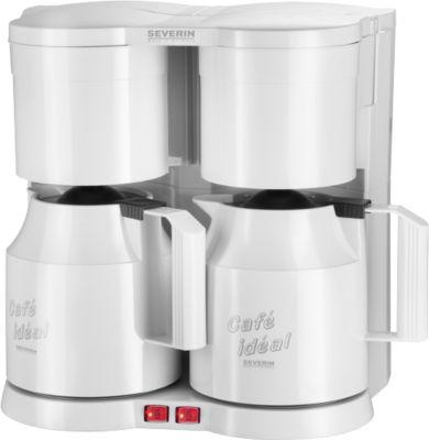 Duo-Kaffeeautomat, weiß