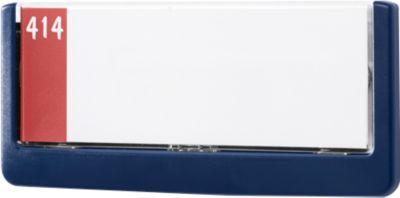 DURABLE deurbordje CLICK SIGN, 149 x 52,5 mm, blauw, 5 stuks