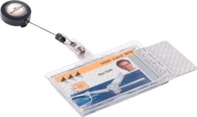 Doppelbox mit Ausweishalter von DURABLE, 10 Stück