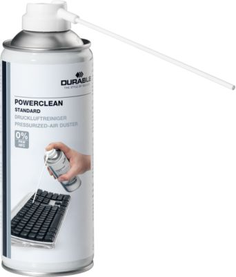 DURABLE Druckluftspray Powerclean, 400 ml