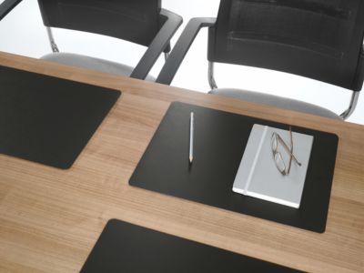 DURABLE Duraglas® Schreibunterlage für Konferenzräume, Leder