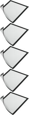 Durable magaframe A3, zwart, 5 stuks