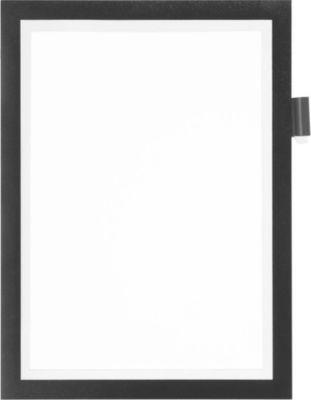 DURABLE Magneetlijsten DURAFRAME® NOTE, A4, zelfklevend kader, zwart