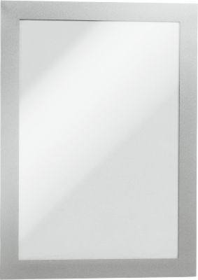 DURABLE Magnetrahmen DURAFRAME MAGNETIC, DIN A5, silber-metallic, 5 Stück