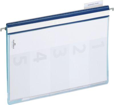 DURABLE Organisationshefter, für DIN A4, 5 Stück, blau