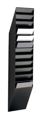 DURABLE Prospektspender Flexiboxx 12, 12 Spender, A4, hoch, schwarz