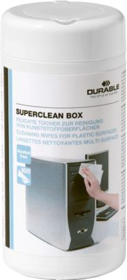 DURABLE reinigingsdoekjes Superclean Box