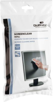 DURABLE Reinigungstücher Screenclean Refill