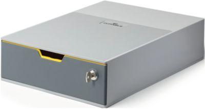 DURABLE Schubladenbox VARICOLOR, 1 Schub, abschließbar, DIN C4