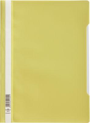 DURABLE Sichthefter mit Abheftung, DIN A4, Polypropylen, 50 Stück, lindgrün