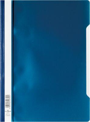 Durable snelhechtmappen, donkerblauw, pak van 50 stuks