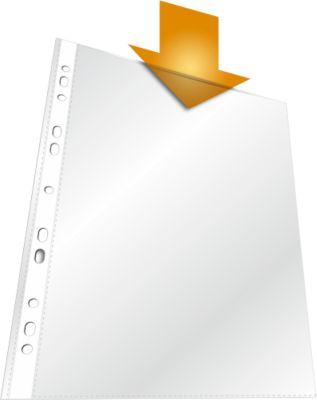 DURABLE STANDARD PP Transparante showtassen, A4, generfd, 100 stuks