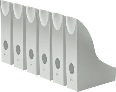 DURABLE Stehsammler Basic, DIN A4, Polystyrol, grau