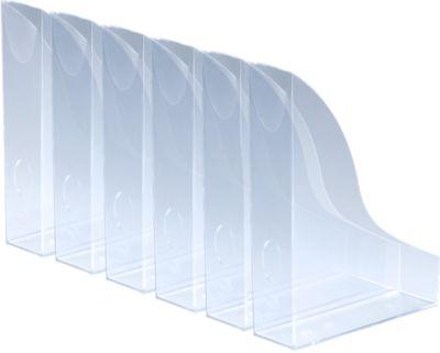 DURABLE Stehsammler Basic, DIN A4, Polystyrol, transparent
