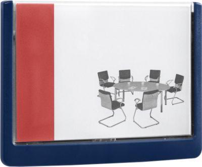 DURABLE Türschild CLICK SIGN, 149 x 105,5 mm, 5 Stück, blau
