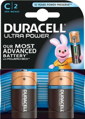 DURACELL® batterij Ultra Power, Baby C, 1,5 V, 2 stuks