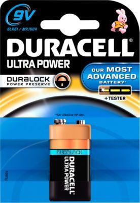 DURACELL® batterij Ultra Power, E Blok, 9 V, 1 stuk