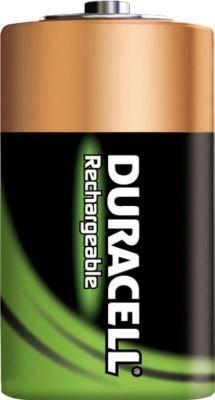 DURACELL® oplaadbare batterijen, Baby C, 1,2 V, 2200 mAh, per stuk