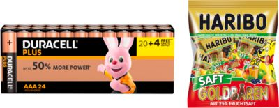 DURACELL® Plus Power Micro/AAA Batterijen 20 + 4 gratis