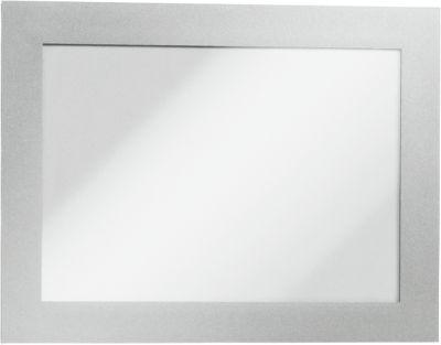 Duraframe® Magnetrahmen A6, selbstklebend, 2 St., silber