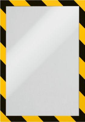 DURAFRAME® SECURITY A4 - geel/zwart - 2 stuks