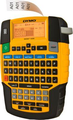 DYMO®  Beletteringsysteem Rhino 4200 Qwerty-toetsenbord