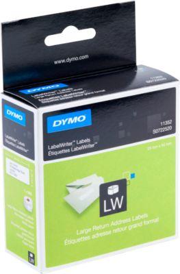 DYMO LabelWriter, Rücksendeadress-Etiketten, permanent, 25 x 54 mm, 500 Stück