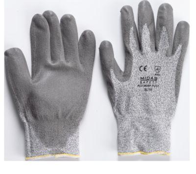 Dyneema Handschoenen, grijs, mt. 10