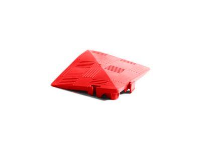 Eckrampe für Clippy Bodenrost, rot