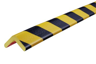 Eckschutzprofile Typ H, 5-m-Rolle, gelb/schwarz