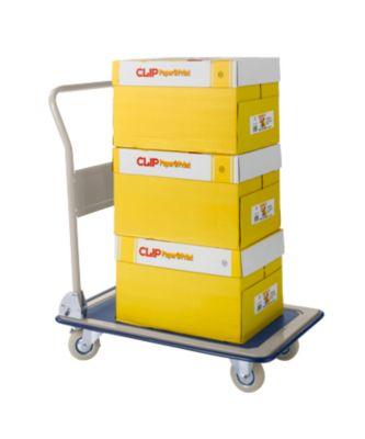 Economy set kopieerpapier CLIP Paper@Print + transportwagen