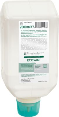 Ecosan Hautreiniger, für Lebensmittelbereich, 2000 ml