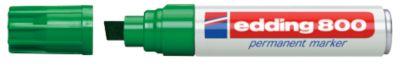 edding 800, m. Keilspitze, 4-12 mm, grün, 5 Stück